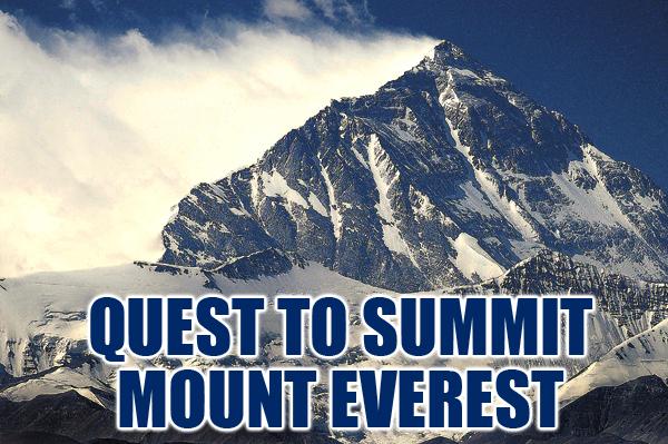Quest Mount Everest type