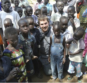 Ryan Scheetz At Gorom Refugee Camp in Juba South Sudan