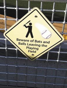 Beware of Foul Balls
