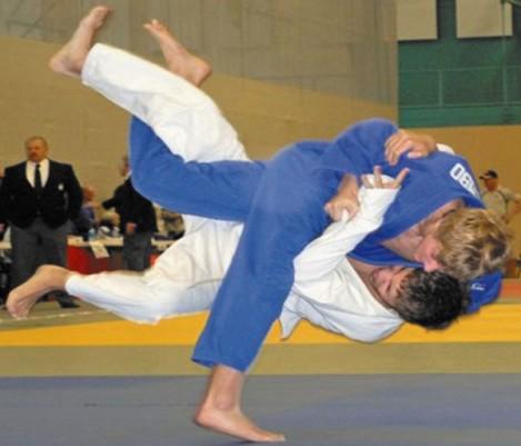 Golembo Mixes Baseball, Judo Skills