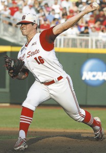 Carlos Rodon 4C NC State action 2013 CWS