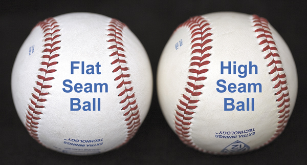 Flat Seam vs High Seam Ball