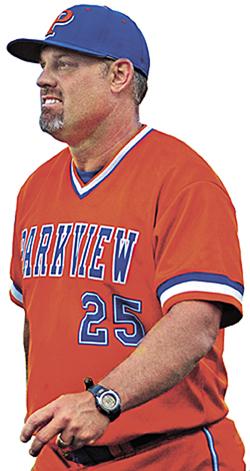 Chan Brown head coach Parkview HS
