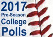 2017 Pre-Season College Baseball Polls