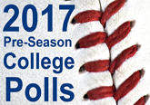2017 Pre-Season College Baseball Polls