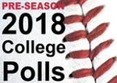 2018 Pre-Season College Baseball Polls