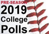 2019 Pre-Season Collegiate Baseball Rankings
