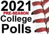 2021 Pre-Season College Baseball Rankings